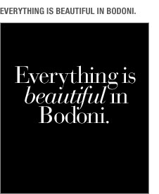 Everything is beautiful in Bodoni t-shirt