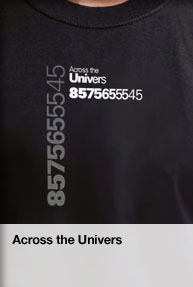 Across the Univers t-shirt