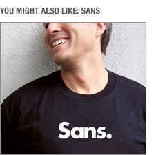 You might also like Sans
